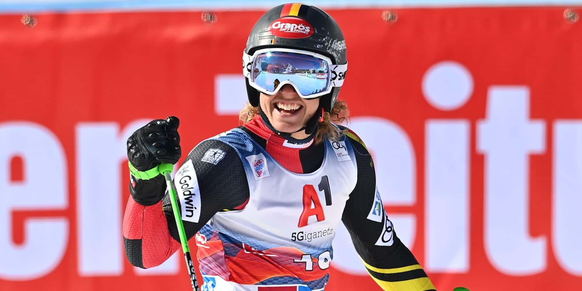 L'Anversois Sam Maes 18e du slalom géant d'ouverture de la saison à Sölden