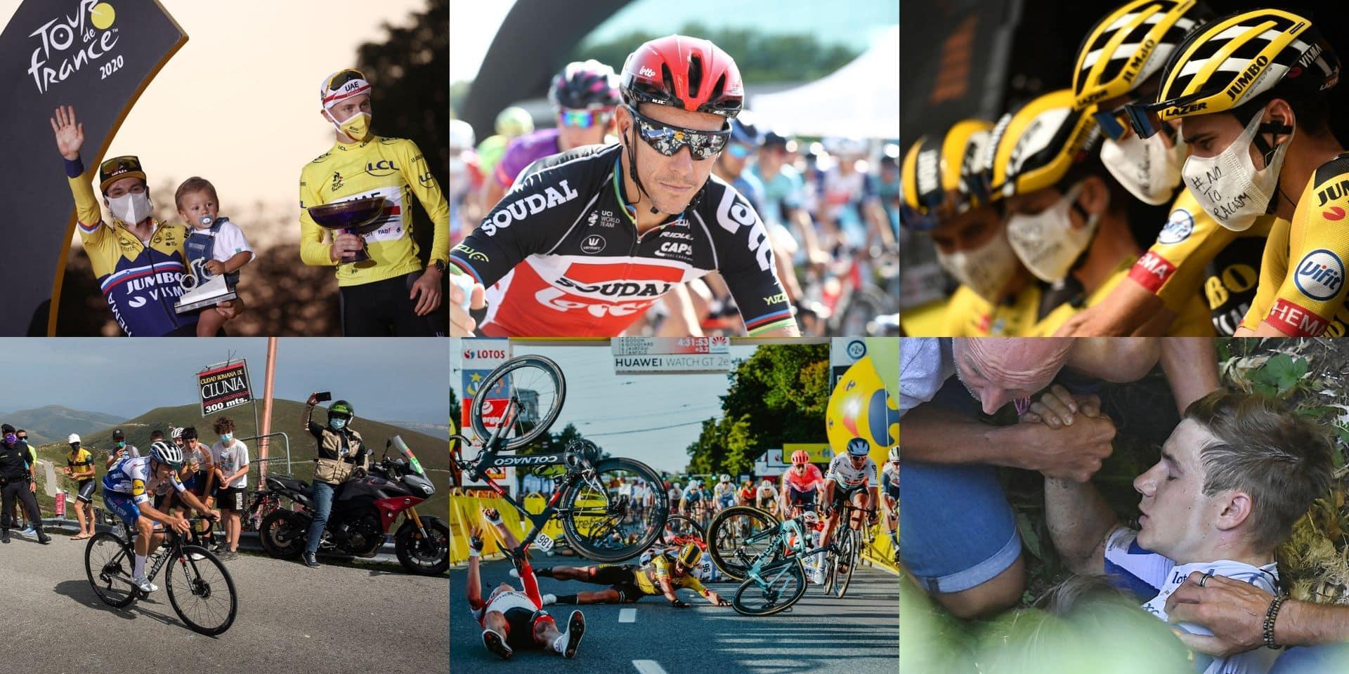 Pogacar, Remco, Jakobsen, Van Aert: retour sur une saison cycliste qu'on n'est pas près d'oublier