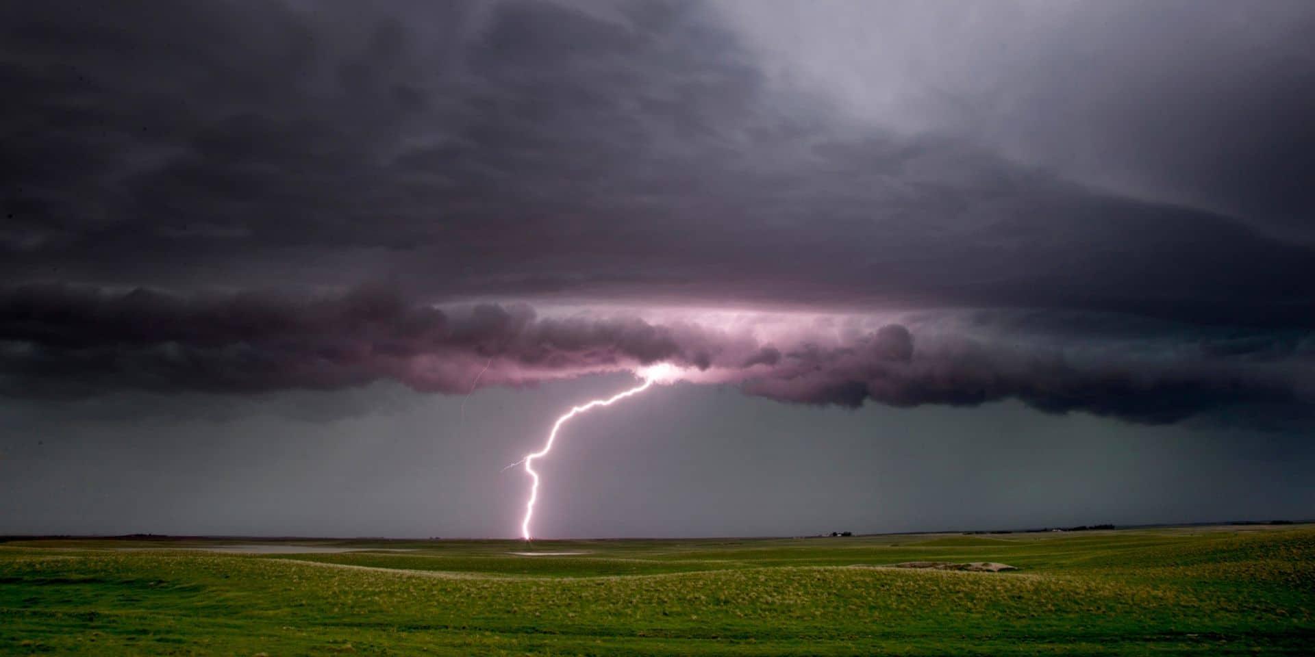 Météo: alerte jaune pour les orages jusqu'à ce samedi soir
