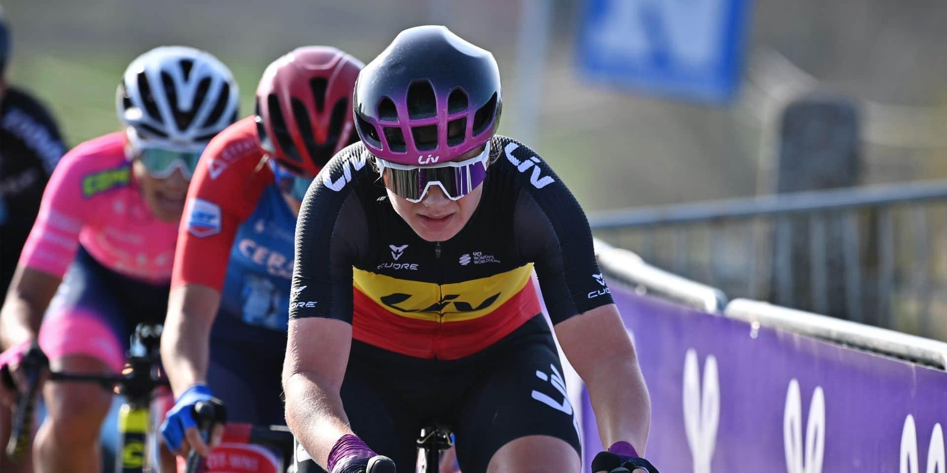 """Lotte Kopecky grande favorite du championnat de Belgique: """"Mais cette épreuve est toujours un peu une loterie"""""""