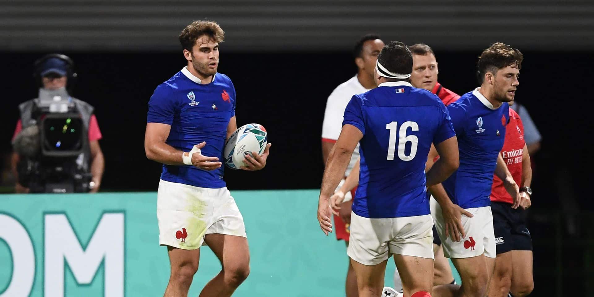 Le XV de France bat les Tonga et va en quarts de finale