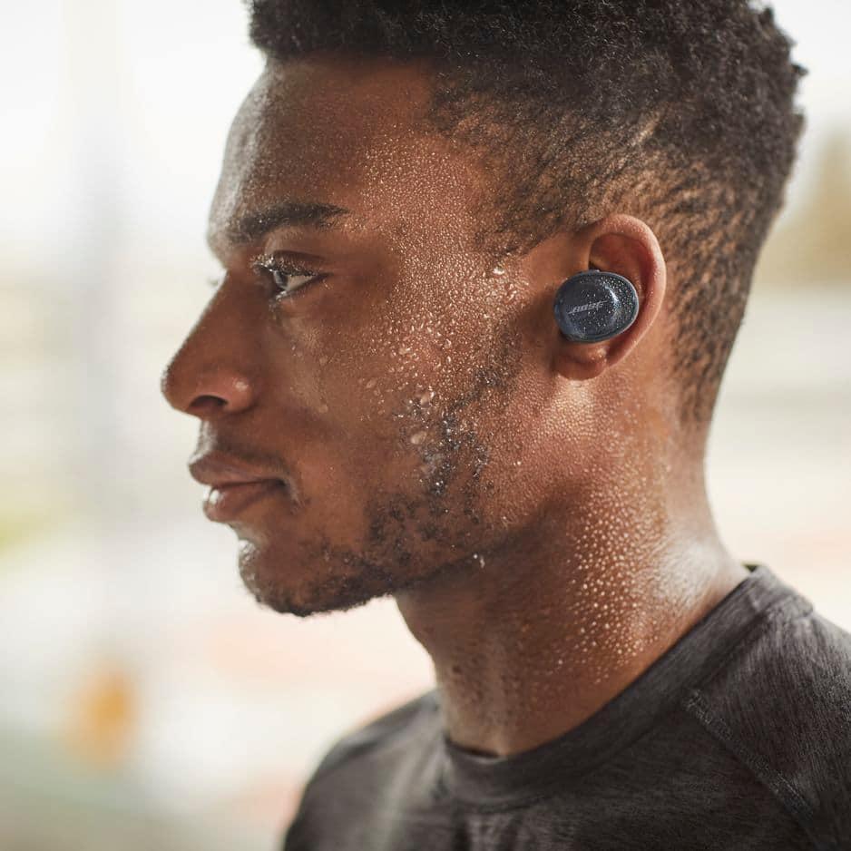Des écouteurs entièrement sans fil et conçus pour faire du sport. Le bonheur est dans ces Soundsport Free de Bose, 199.95€