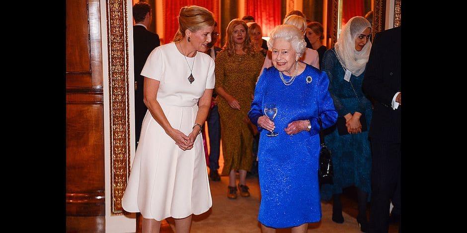 Le beau geste d'Elizabeth II et de sa belle-fille envers les aveugles