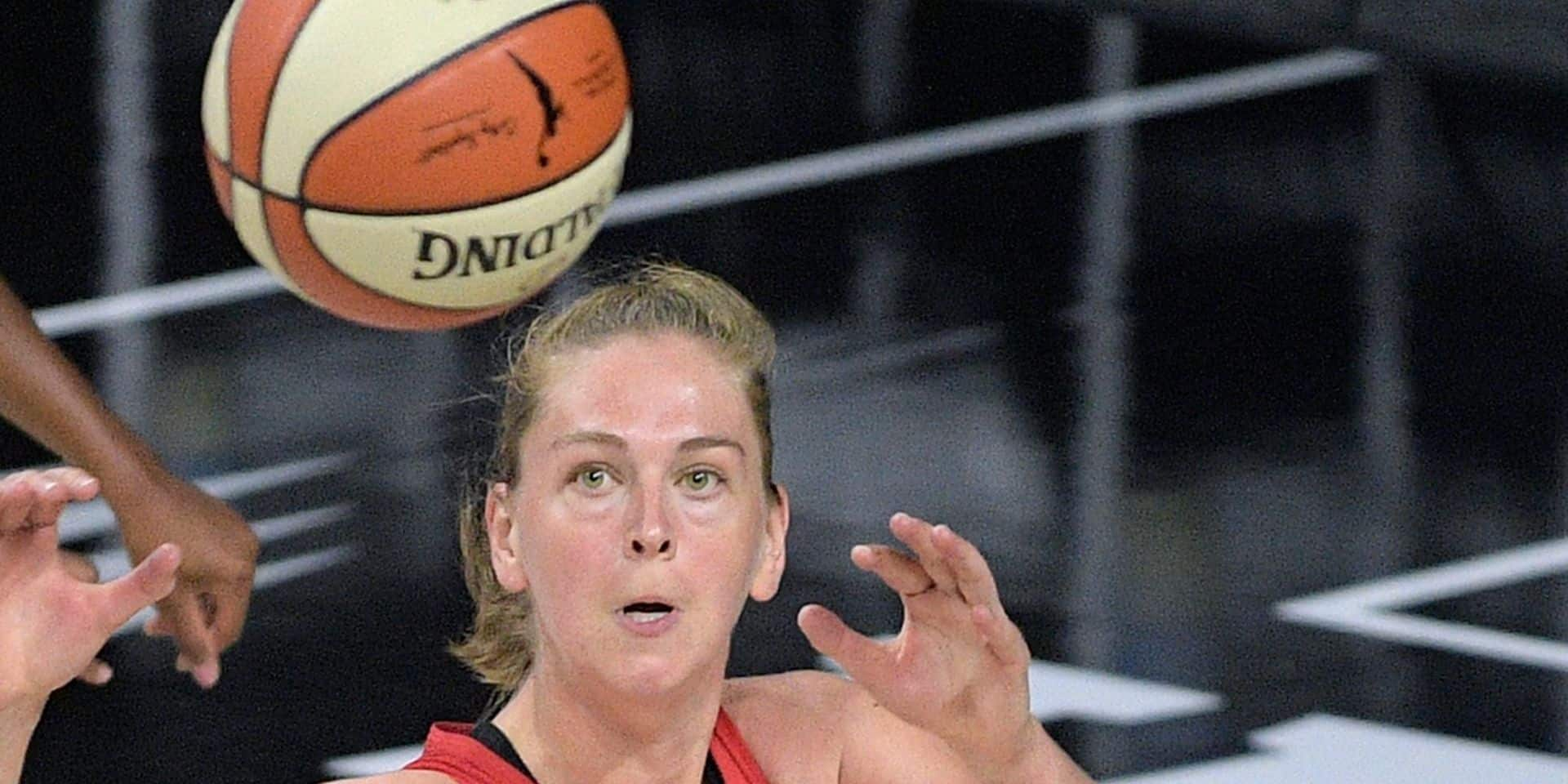 WNBA: Emma Meesseman (14pts, 7 assists) mène Washington Mystics in-extremis en playoffs