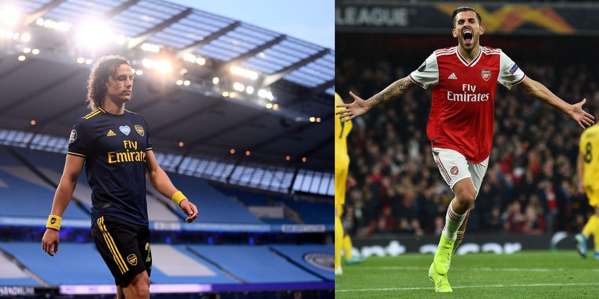 Quatre joueurs, dont David Luiz, prolongent leur séjour à Arsenal