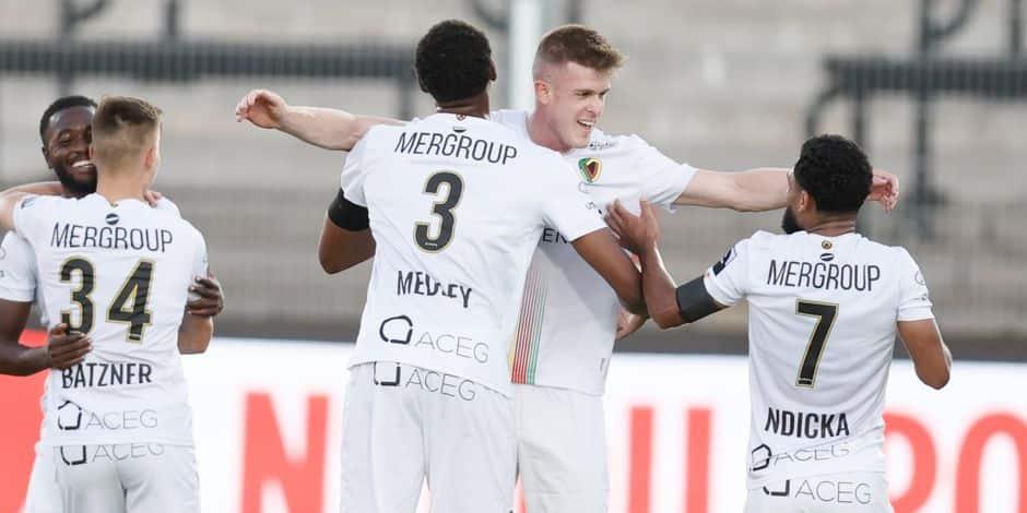 Vainqueur à Seraing, Ostende rejoint l'Union en tête du championnat