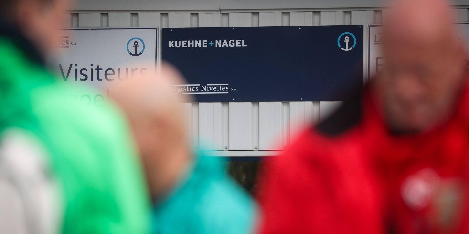 Logistics Nivelles pourrait être fermé au bénéfice des sites flamands de Kontich et Kampenhout de Kuehne + Nagel.