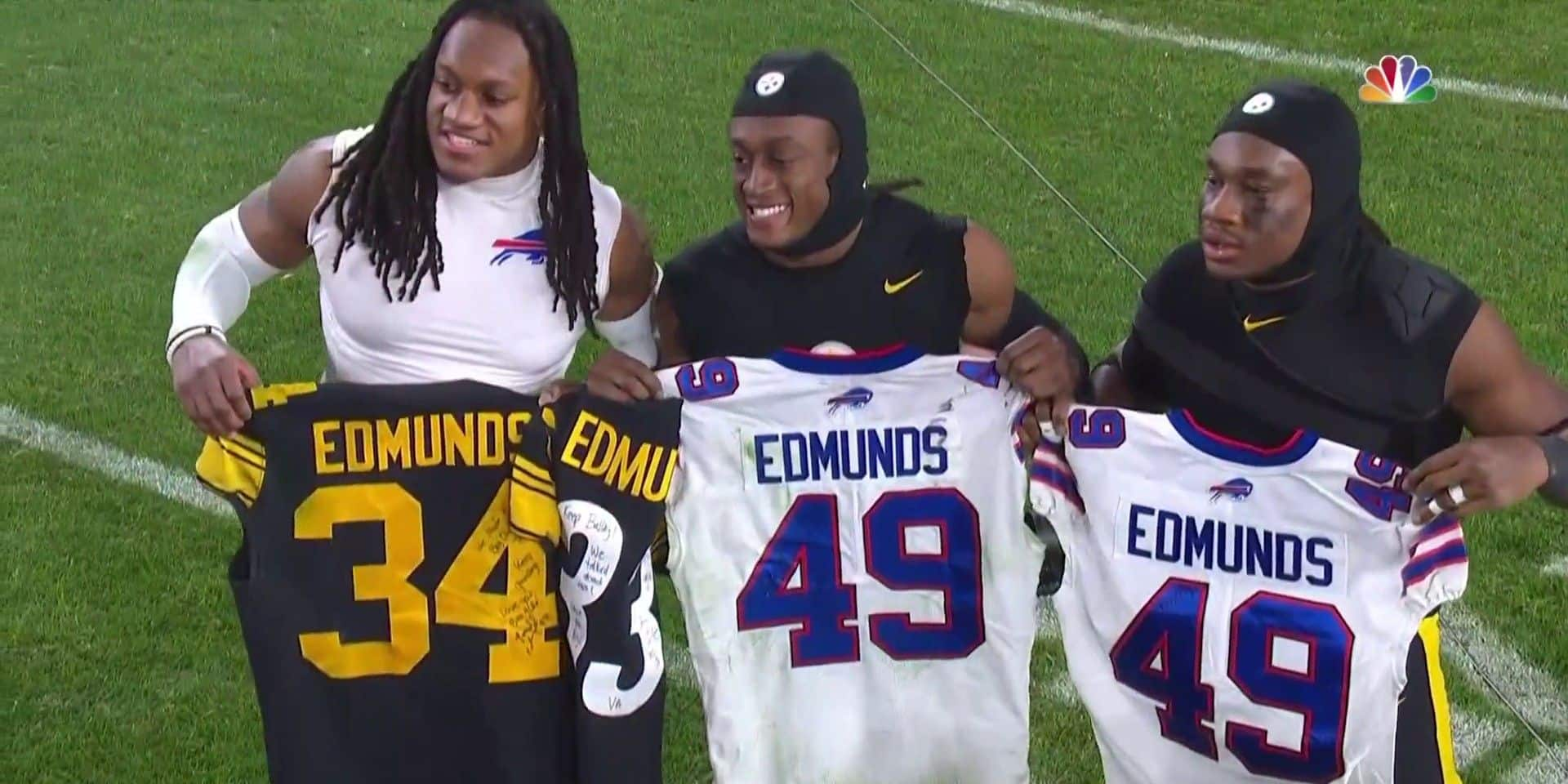 NFL: les frères Edmunds écrivent l'histoire ! (VIDEO)