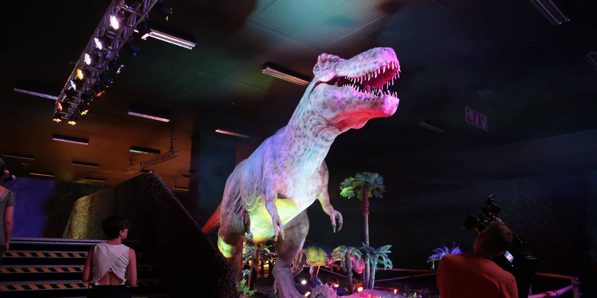 L'exposition Dino World prolongée jusqu'au 31 août