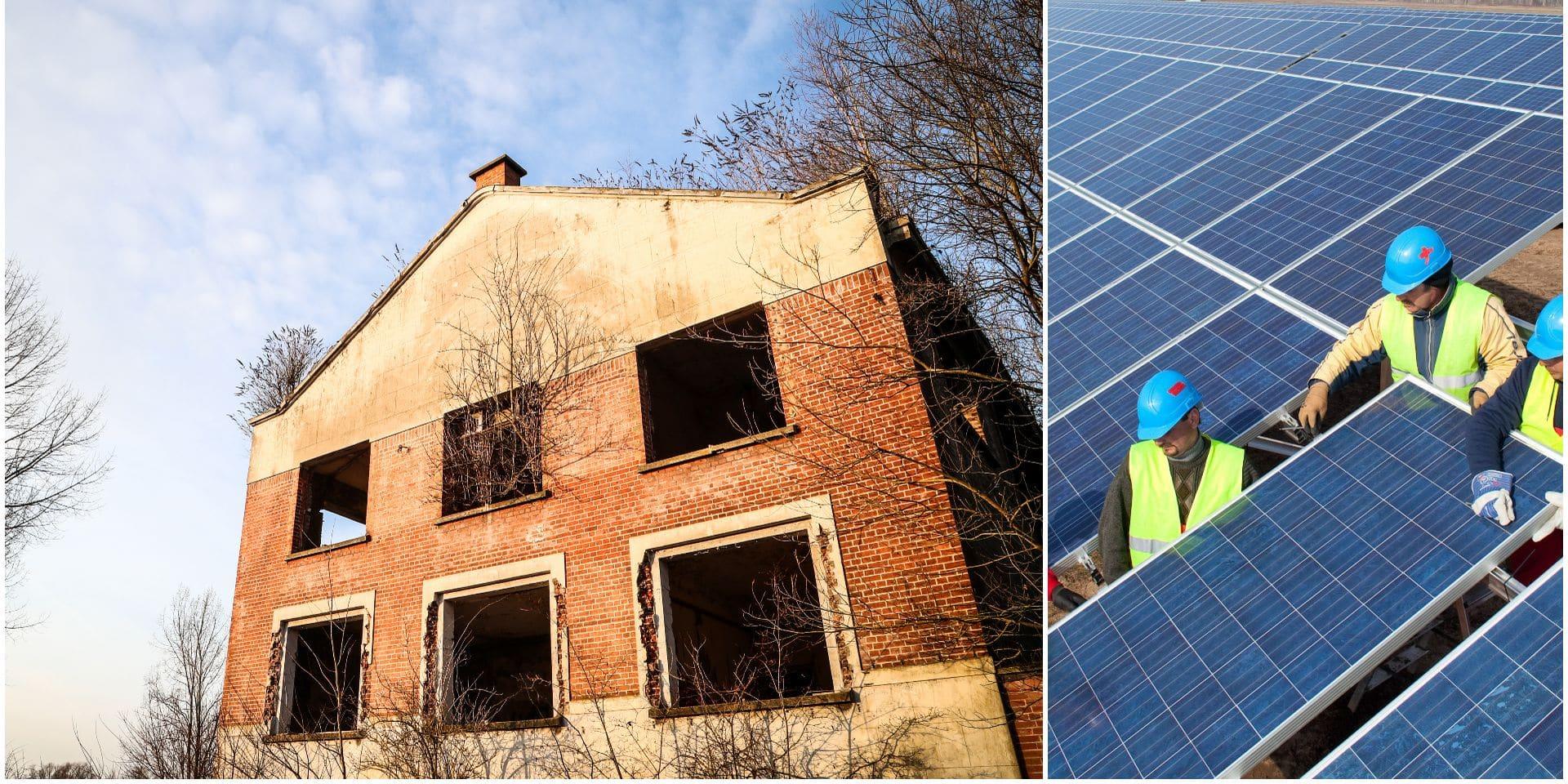 Le plus grand parc photovoltaïque de Wallonie en projet à Hensies !