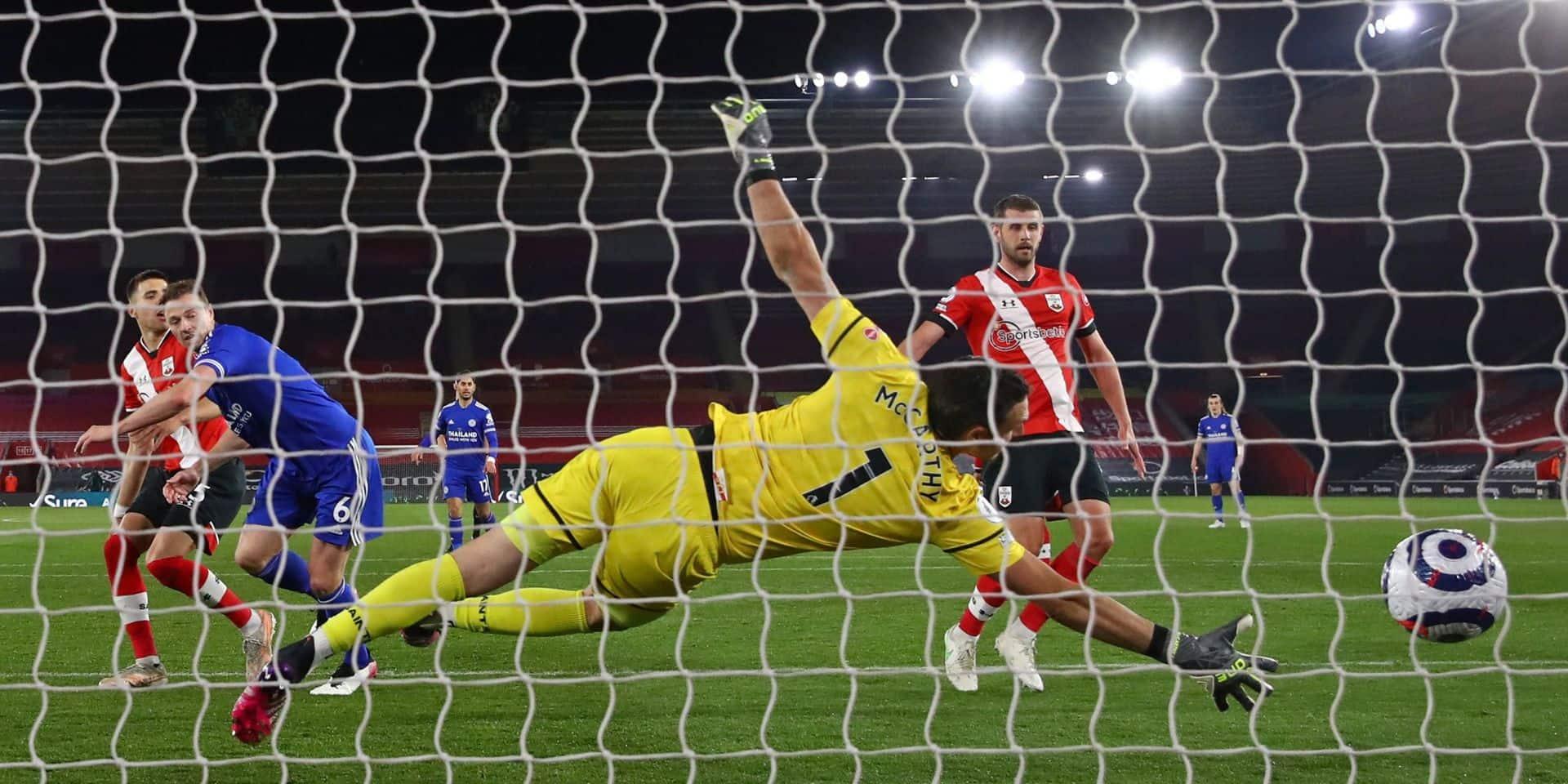 Premier League: Leicester tenu en échec à Southampton