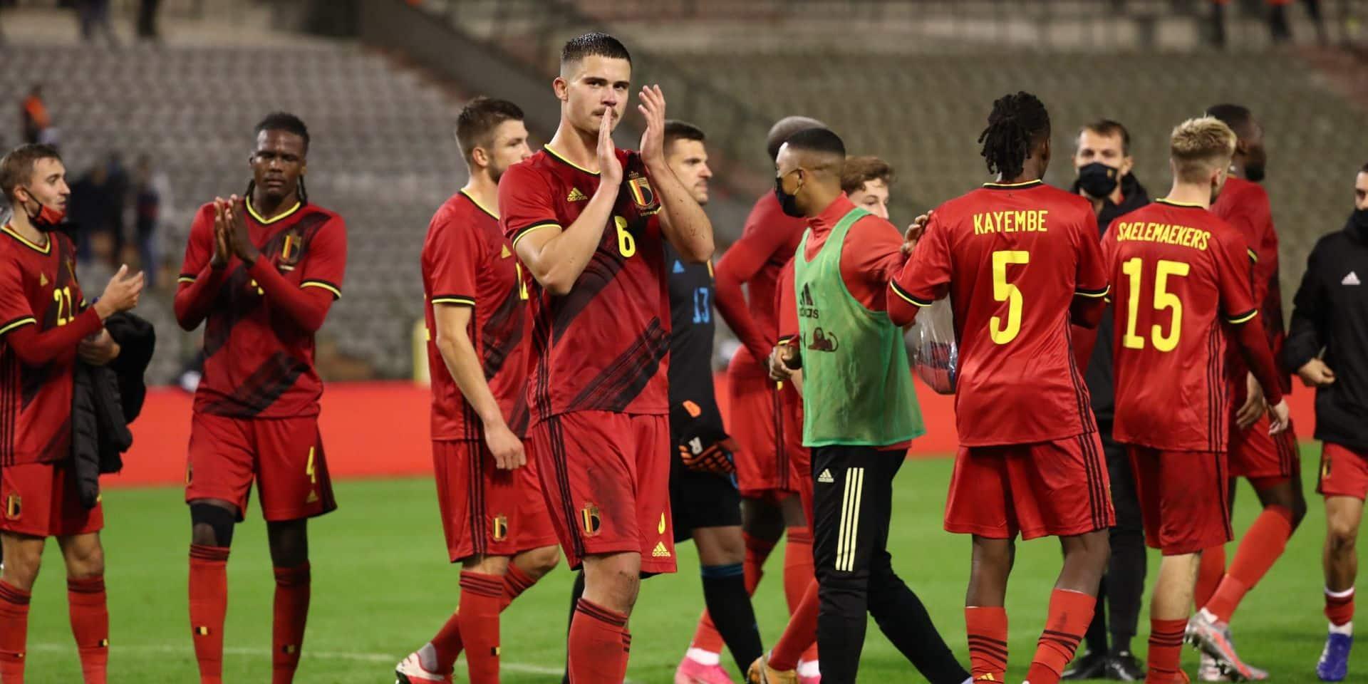 Officiel: les Diables rouges joueront leurs rencontres du mois de novembre à Louvain