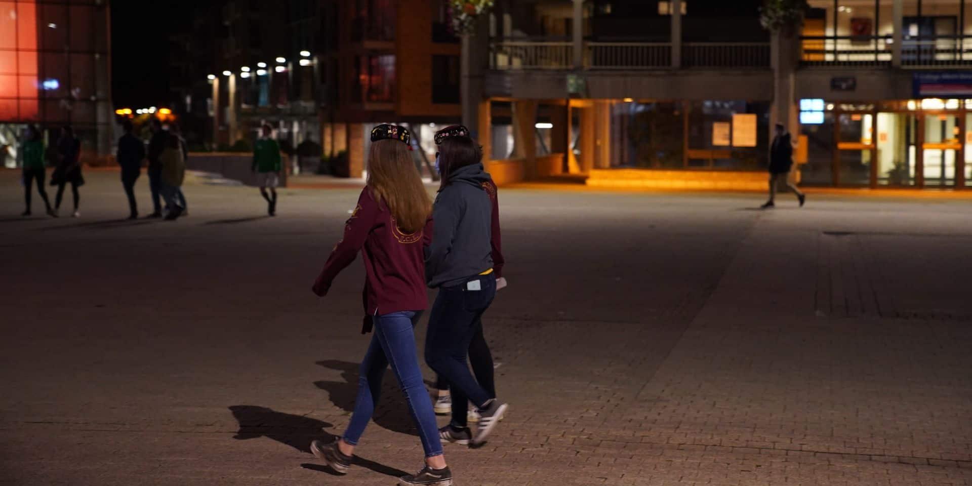 Couvre-feu à Louvain-la-Neuve: la police a empêché 5 rassemblements illégaux