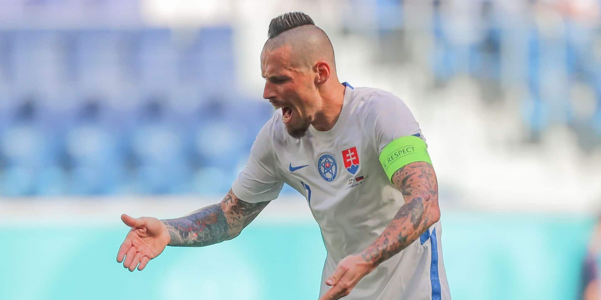 European Football Championship - Sweden - Slovakia