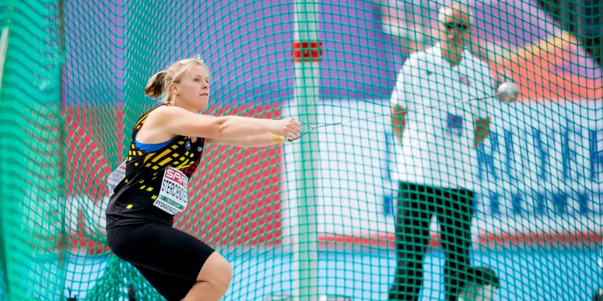 Lancer du marteau : nouveau record de Belgique pour Vanessa Sterckendries