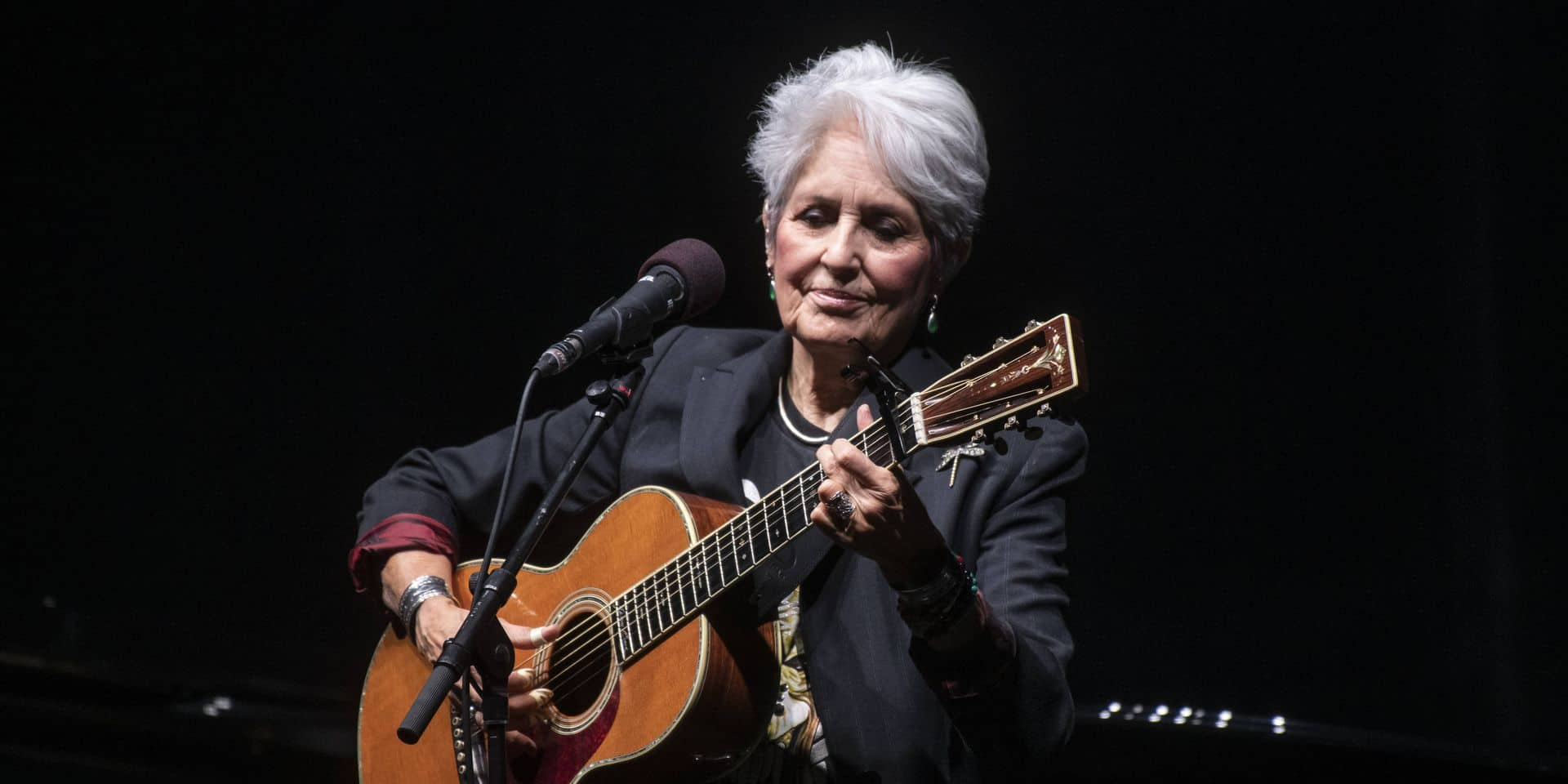 Joan Baez, Madone du Protest Song