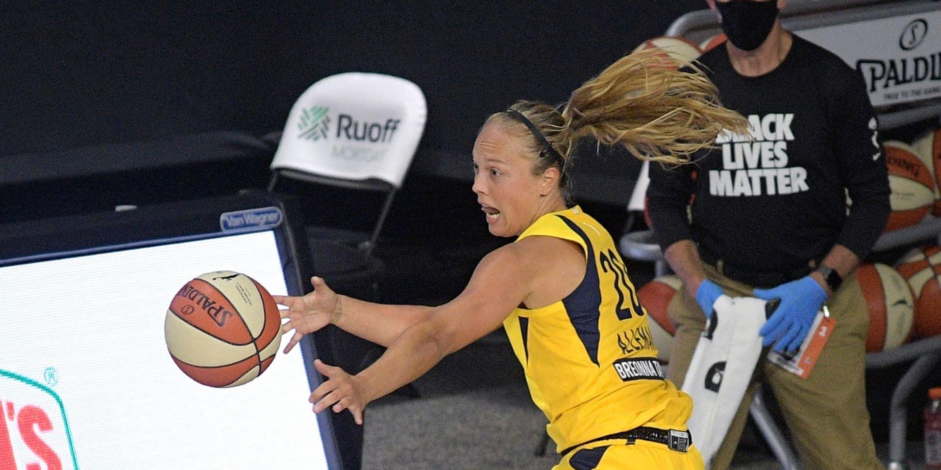 WNBA : Julie Allemand aide Indiana Fever à s'imposer contre Atlanta Dream