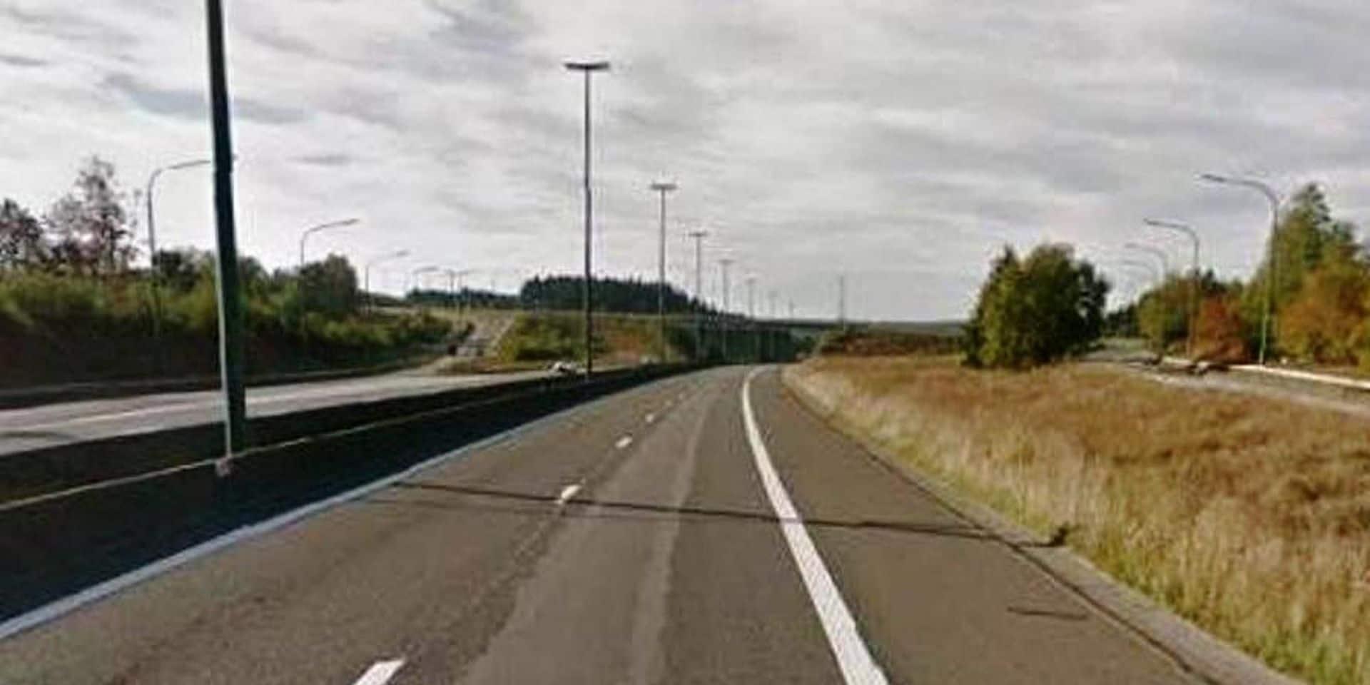 Accident sur l'autoroute E 411 à hauteur de Weyler (Arlon) : deux blessés