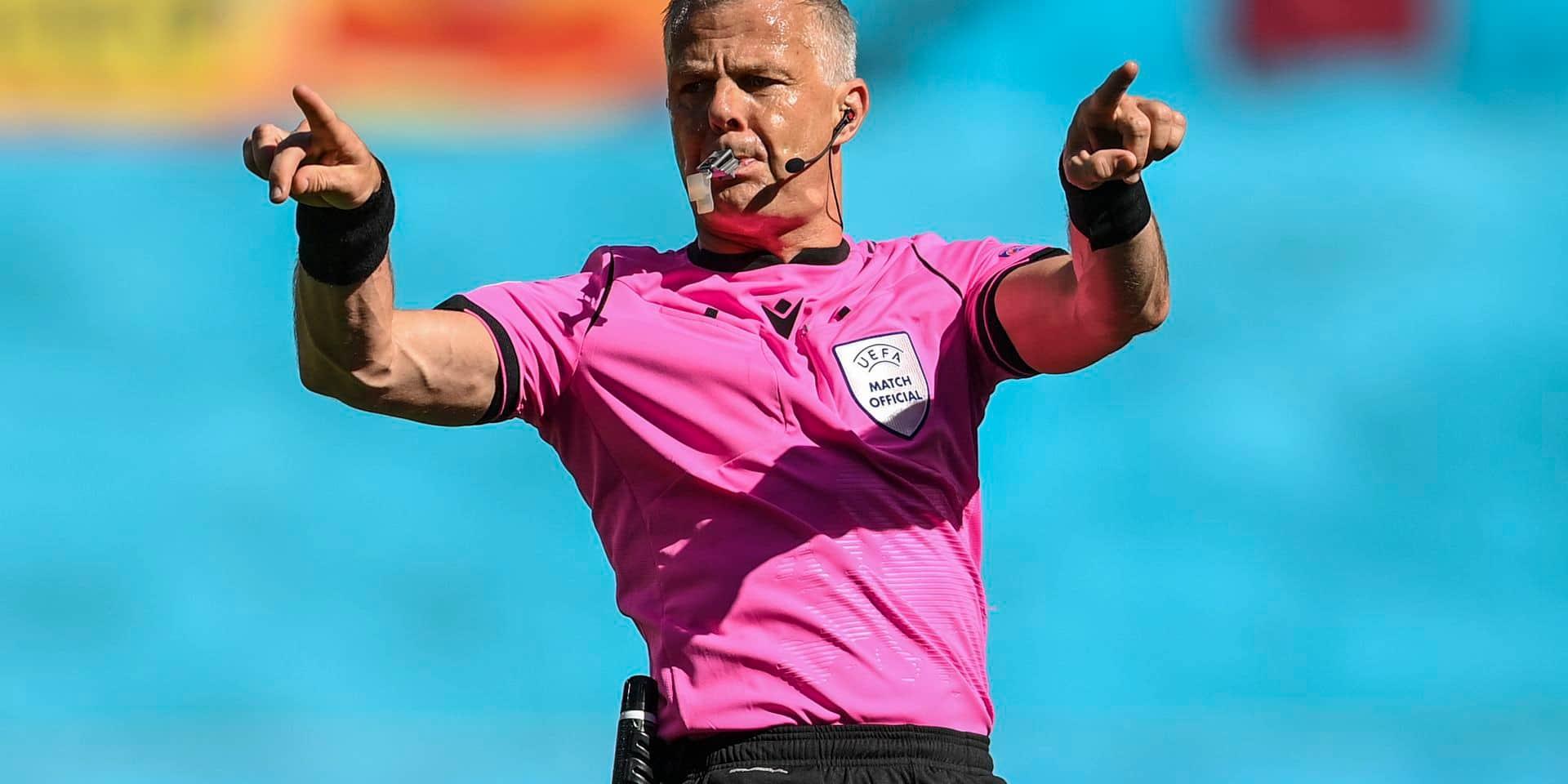 Euro 2020: Bjorn Kuipers sera le premier néerlandais à arbitrer une finale d'un tournoi majeur