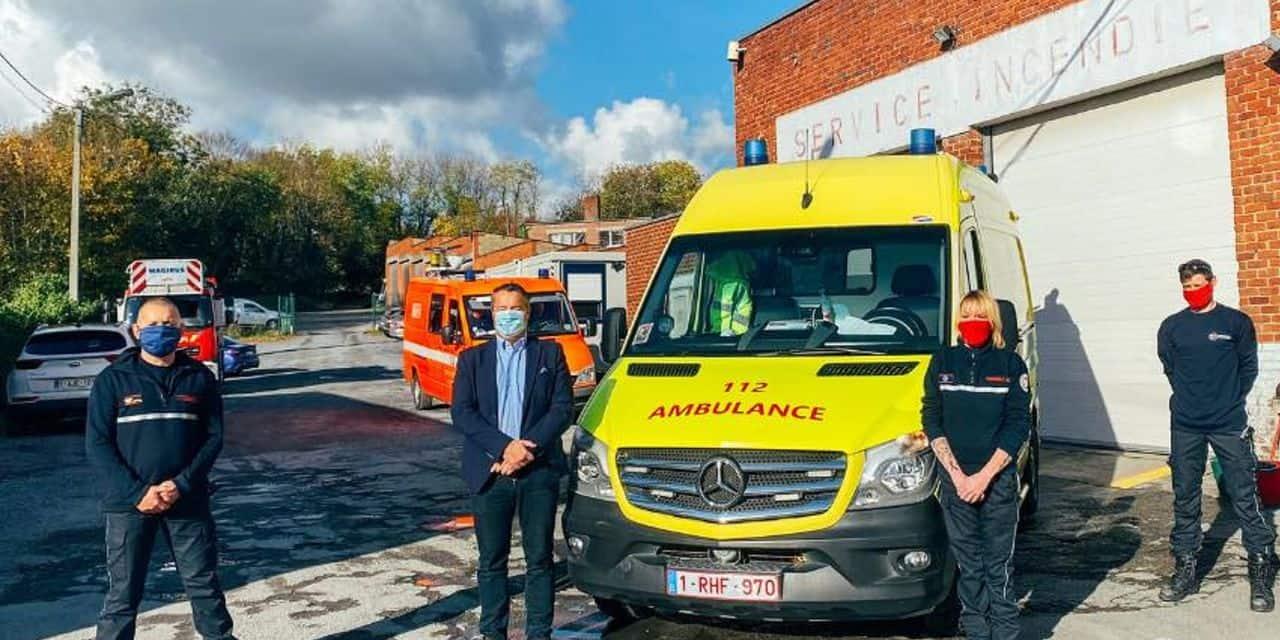 Binche: le nouveau service d'ambulance 24h/24 est opérationnel