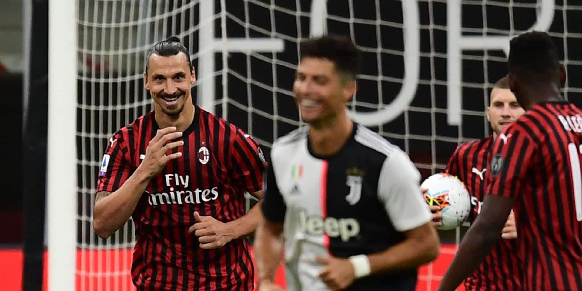 """L'Ibrahimoshow après la victoire du Milan sur la Juve: """"Si j'avais été là depuis le premier jour, nous aurions gagné le Scudetto"""""""