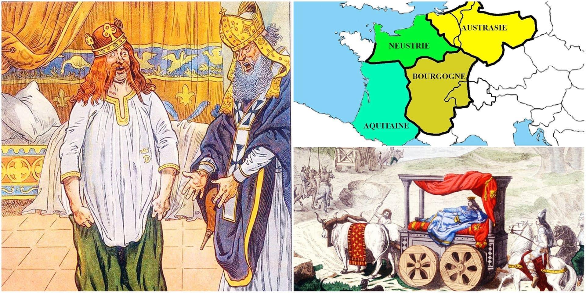 Il y a 1300 ans: les fils du bon roi Dagobert ou les rois fainéants