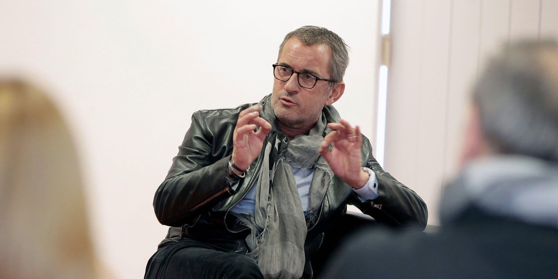 Rencontre des lecteurs du Progres avec Christophe Dechavanne.