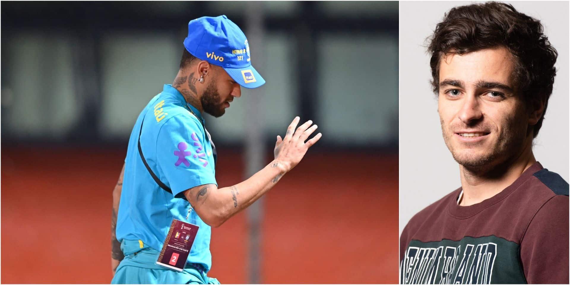 La dernière humeur: Neymar a aussi le droit de craquer mentalement