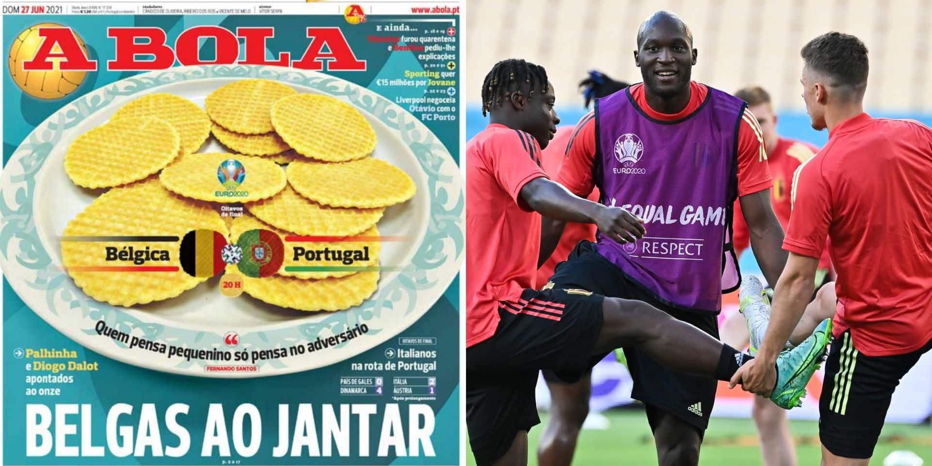 """""""Des Belges à manger"""": la presse portugaise confiante avant la rencontre face aux Diables"""