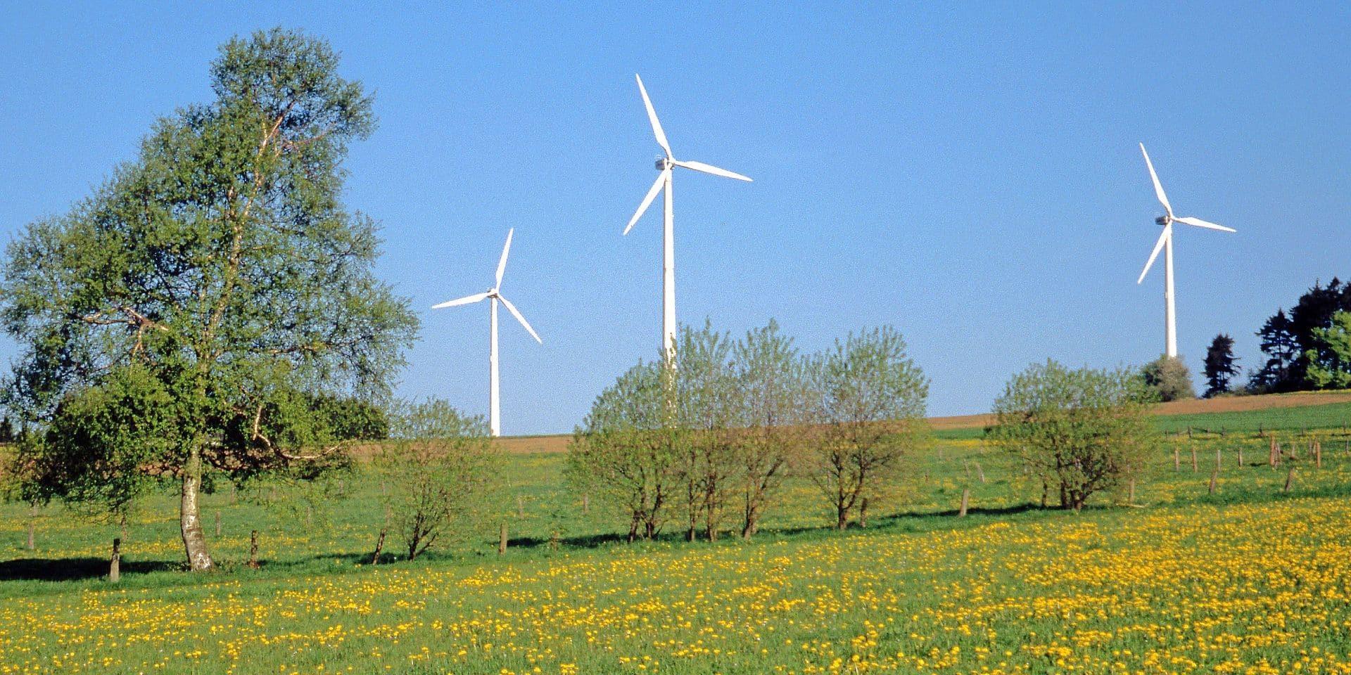 Alternative energy, wind turbines in Wallonia