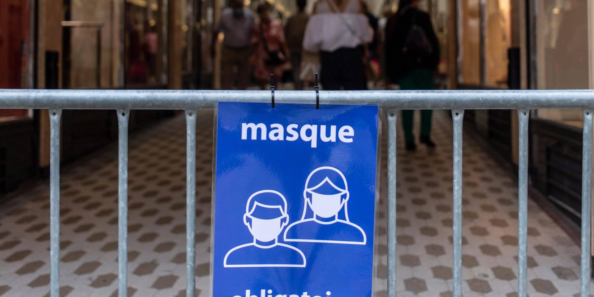 Masque : pas de révolution chez nous !