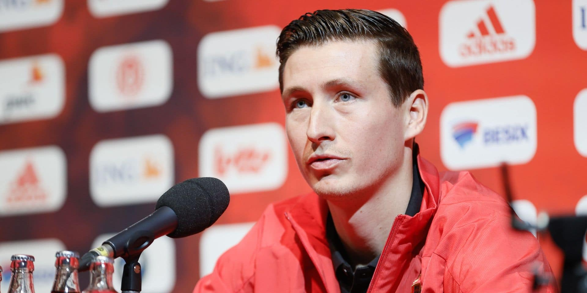 """En grande forme avec Bruges, Vanaken espère jouer un rôle contre la France: """"Pas une honte si je suis sur le banc"""""""