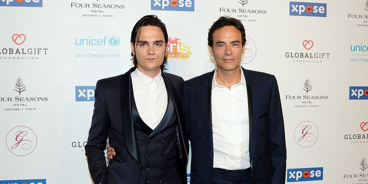 Anthony Delon and Alain-Fabien Delon attending the Global Gift Gala in aid of Unicef France and Global Gift Foundation at Seasons Hotel George V in Paris, France on june 3, 2019. Photo by Nicolas Genin/ABACAPRESS.COM