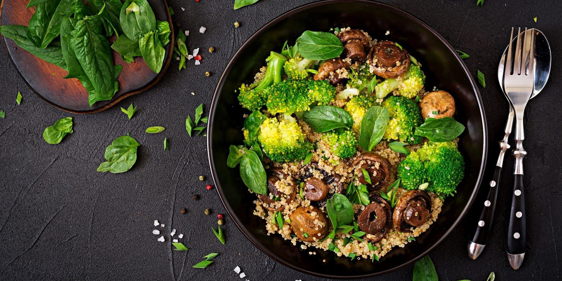 Ils ont plus que jamais le vent en poupe: voici les plats végétariens préférés des Belges