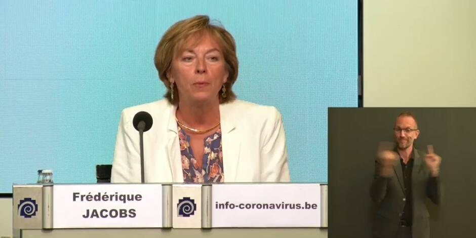 """""""Le virus circule intensément sur notre territoire, ce n'est pas seulement le problème d'Anvers"""""""