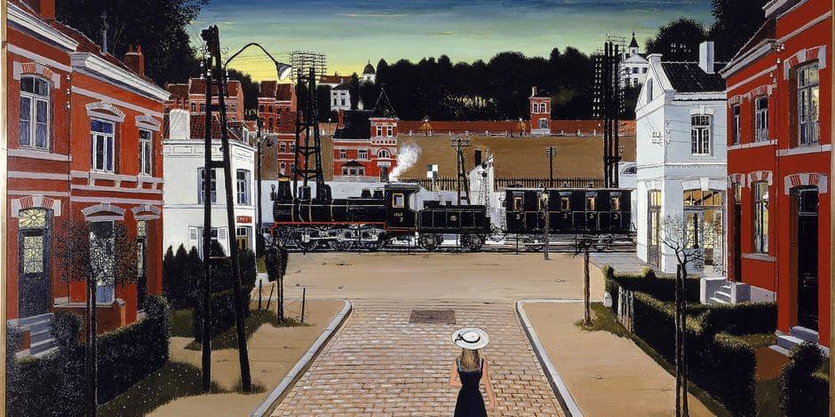 Le Train World rend hommage à Paul Delvaux, l'homme qui aimait les trains