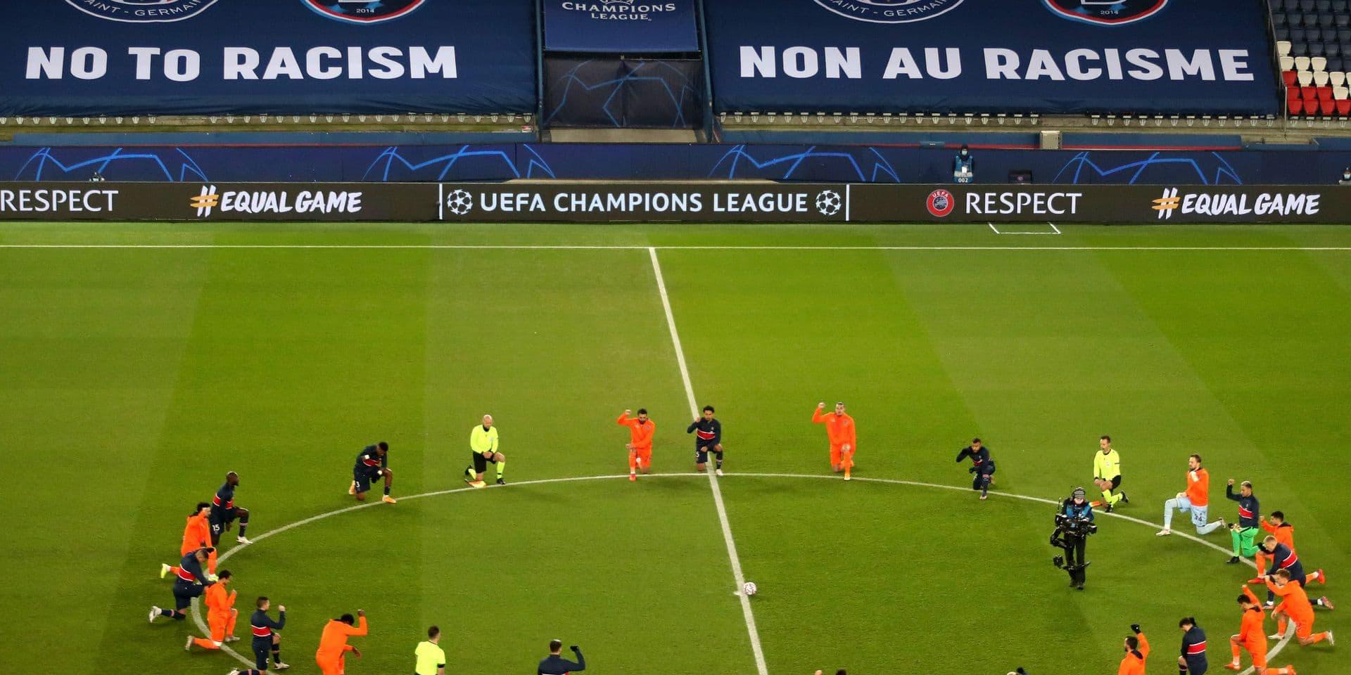 """""""Vingt-deux faux-culs autour d'un grotesque faux combat"""" : l'action contre le racisme des joueurs de PSG - Basaksehir ne plaît pas à tout le monde"""