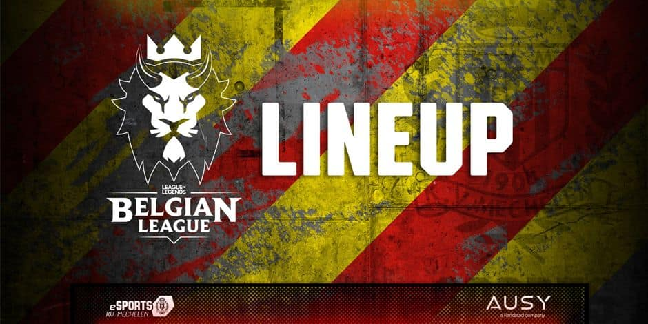 Le KV Mechelen a présenté sa nouvelle équipe League of Legends