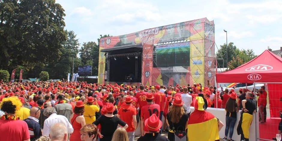Retour du Hazard Village à Braine-le-Comte pour l'Euro 2020