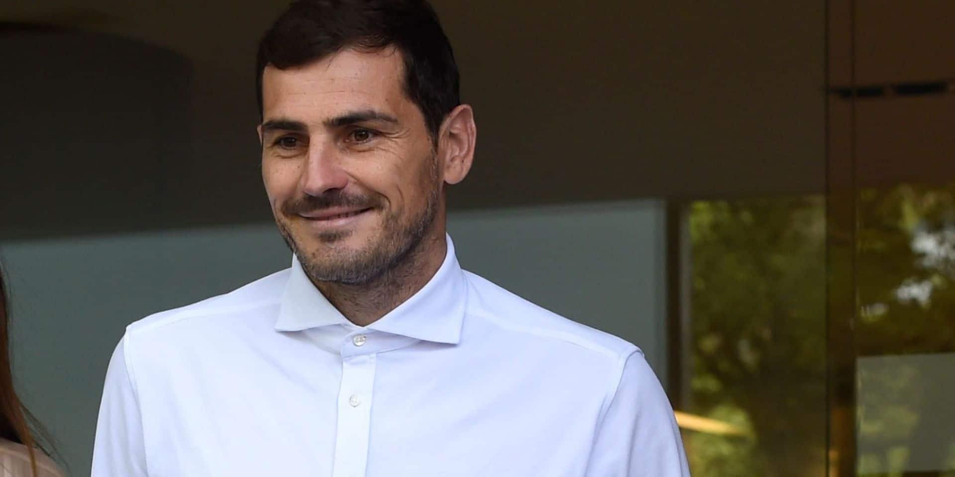 C'est officiel: Iker Casillas prend sa retraite
