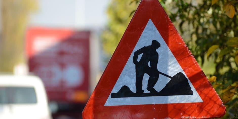 Mouscron: les travaux continuent à la rue de Courtrai