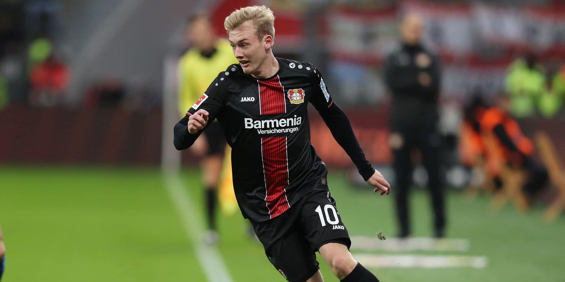 Bundesliga : Julian Brandt, le trophée du Bayer Leverkusen