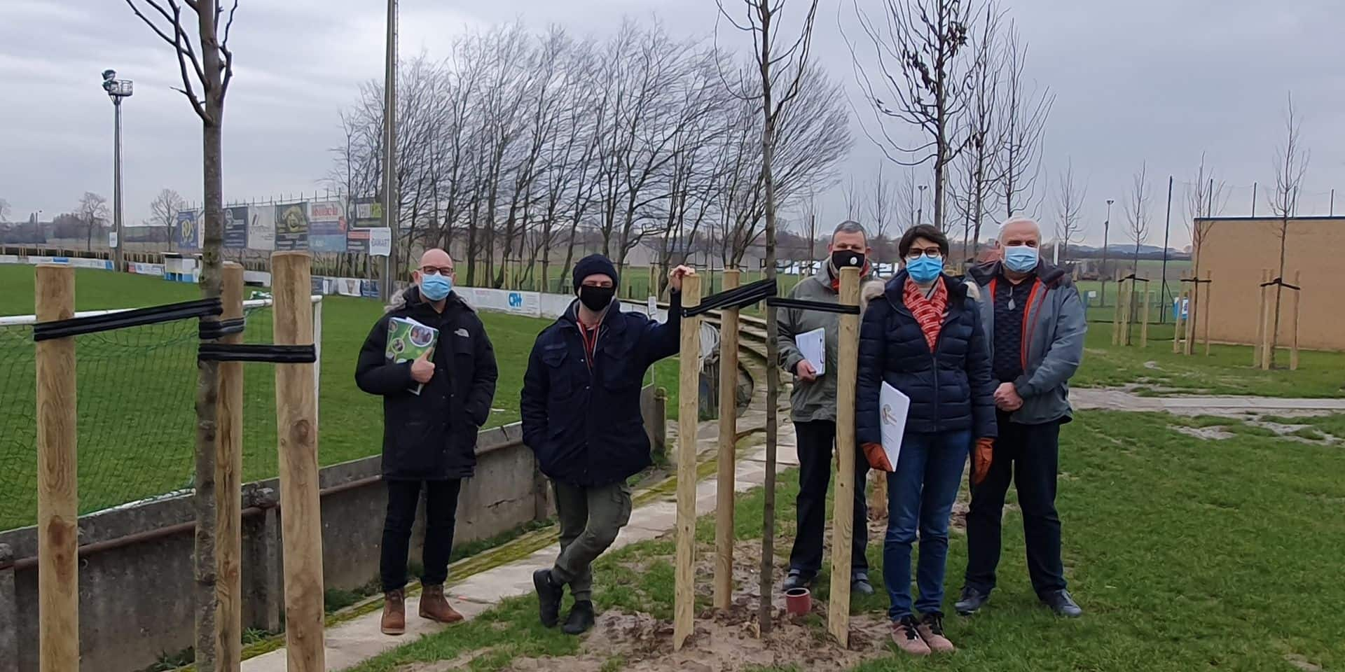 Mouscron : des projets à la pelle pour les espaces verts et la Cellule environnement