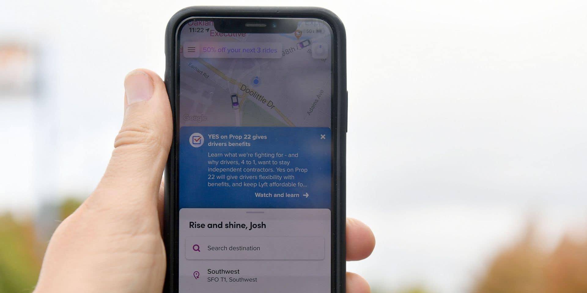 Uber étend ses services à la Flandre