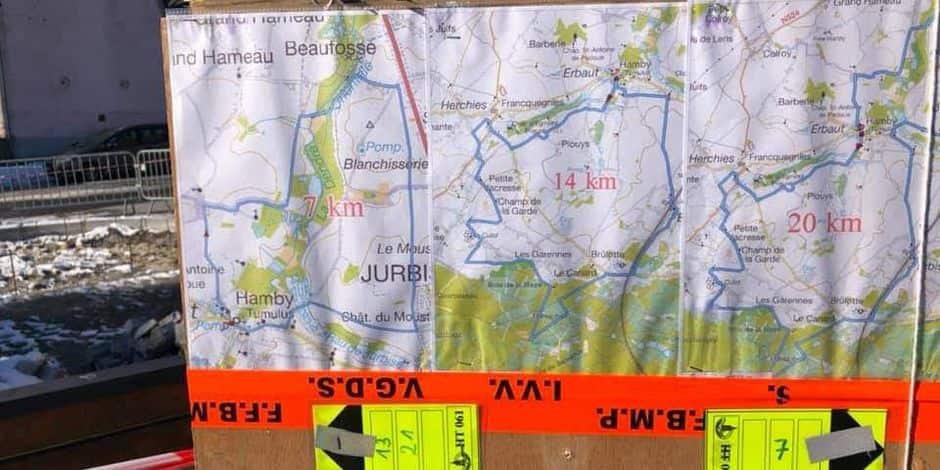 Masnuy-Saint-Pierre: Trois parcours éphémères pour les marcheurs