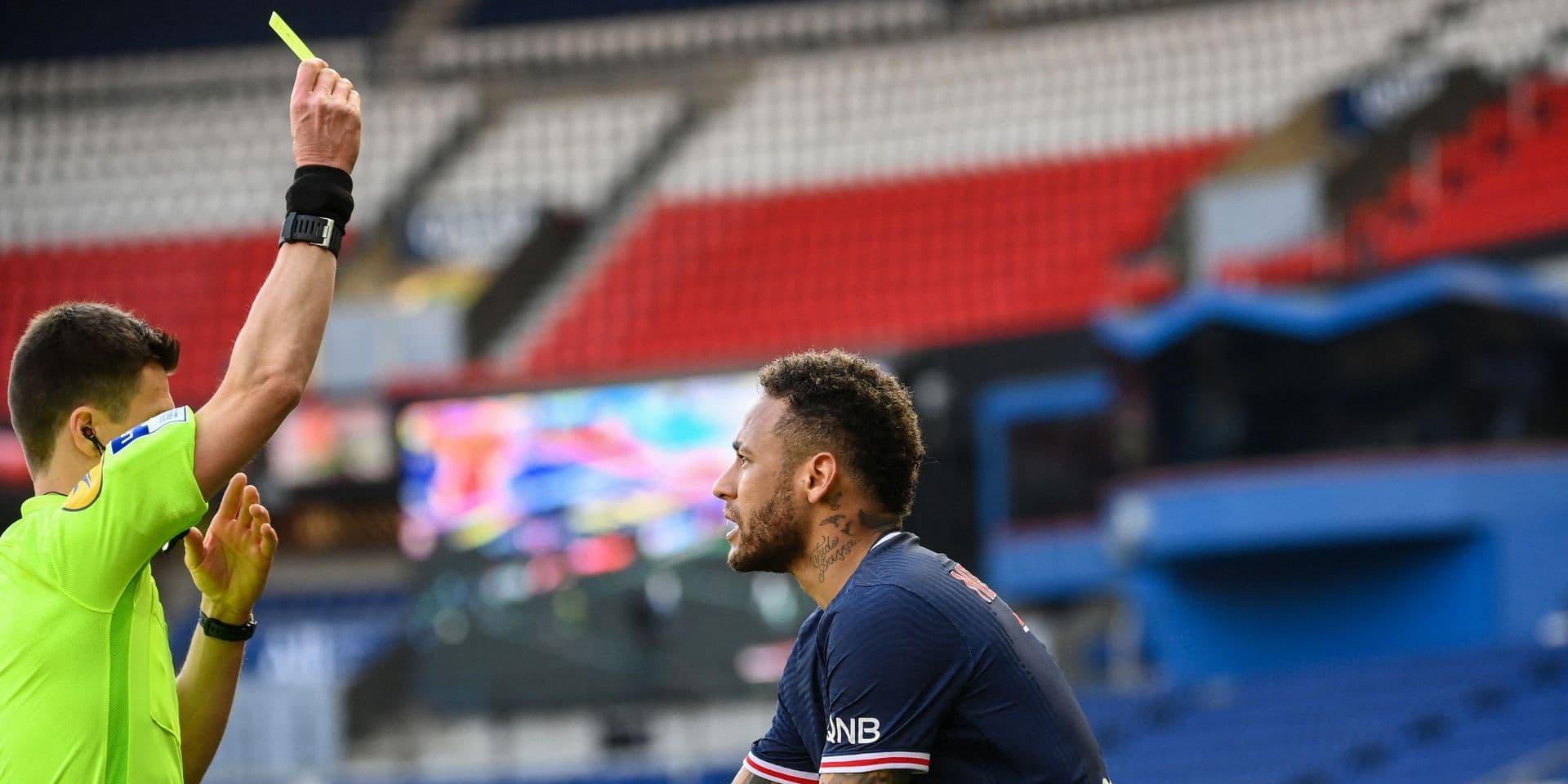 Voici pourquoi Neymar devrait échapper à une lourde sanction après son carton rouge