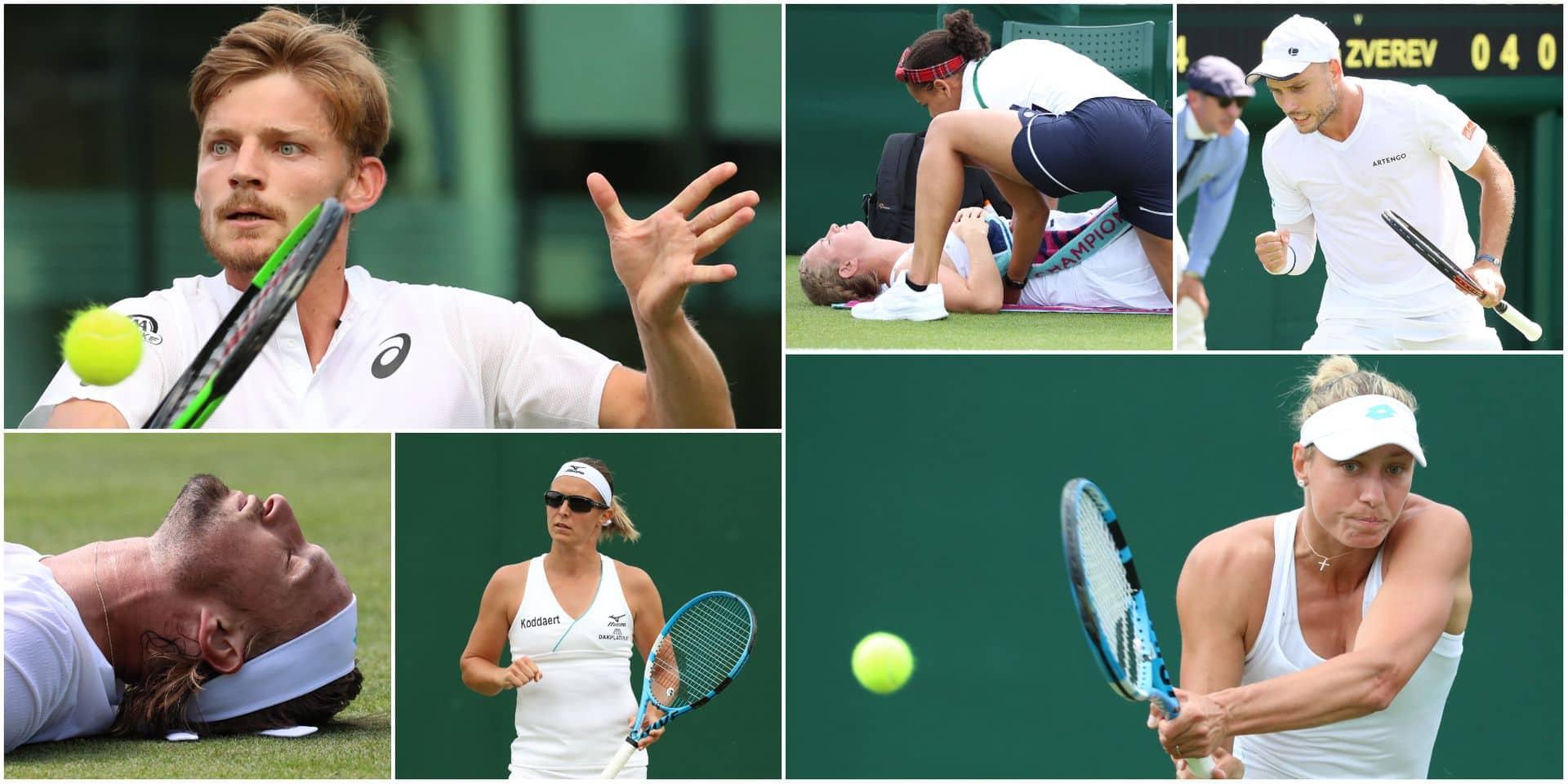 Les Belges à Wimbledon: Darcis et Flipkens déroulent, belle perf' de Wickmayer, Bemelmans et Bonaventure à la maison