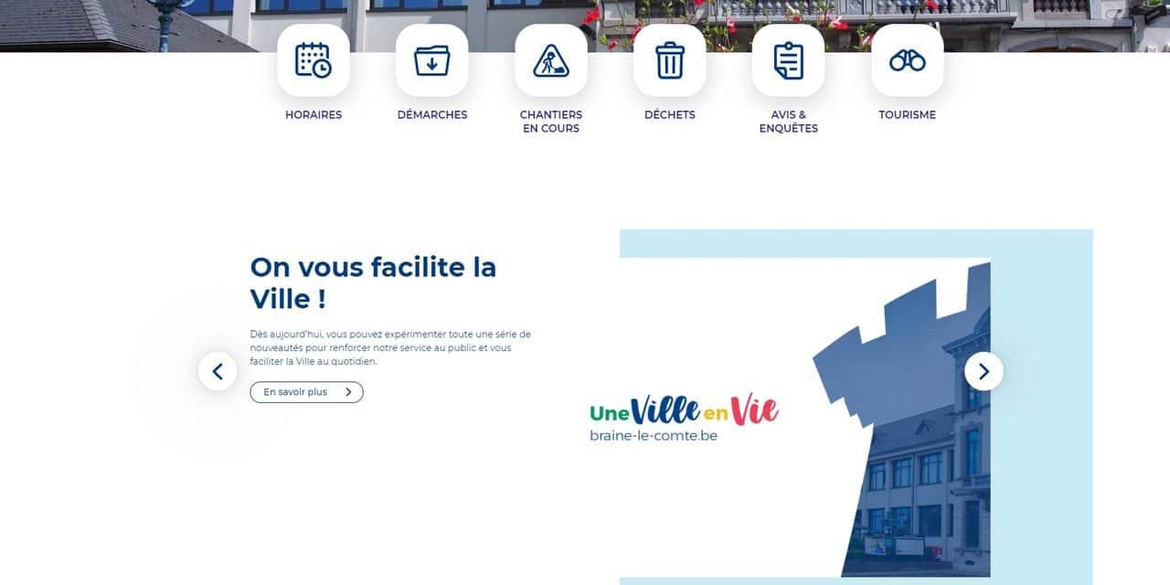 Braine-le-Comte: le site de l'administration fait peau neuve pour simplifier la vie des citoyens