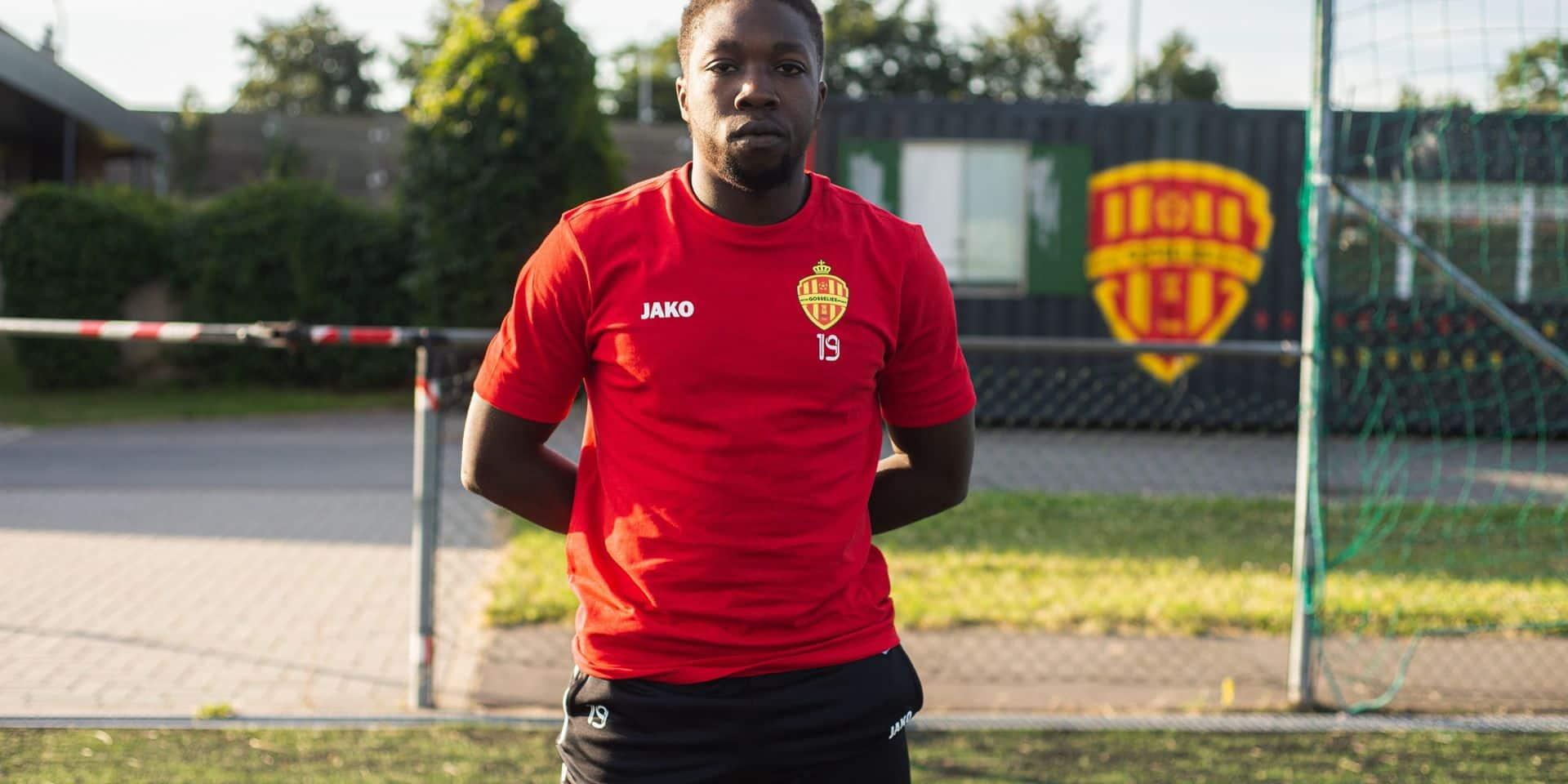 """Mamadou Gueye est en forme avec Gosselies: """"C'est la saison de la maturité"""""""