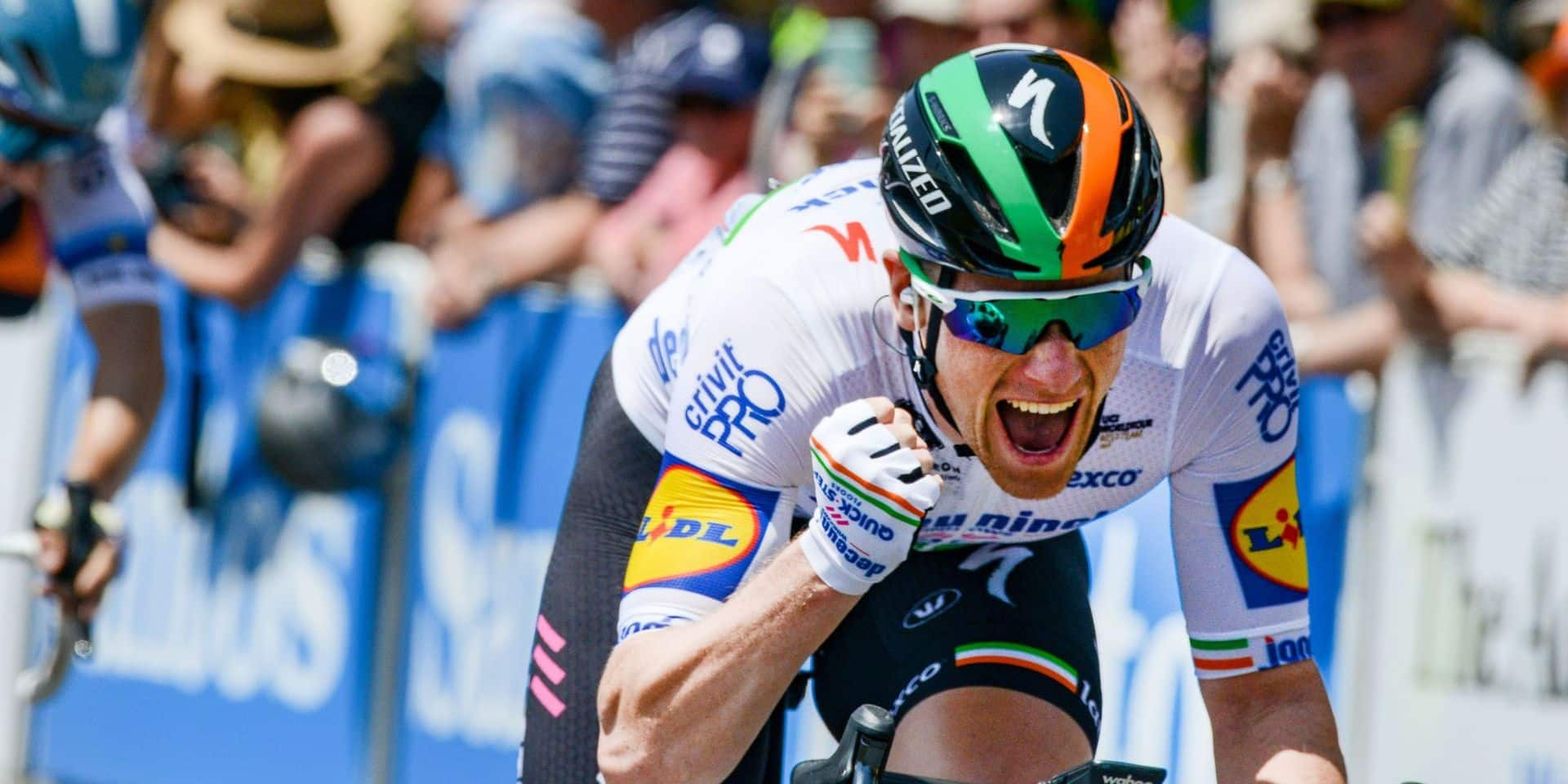 Tour de Burgos: Sam Bennett s'offre la 4e étape, Remco Evenepoel toujours leader